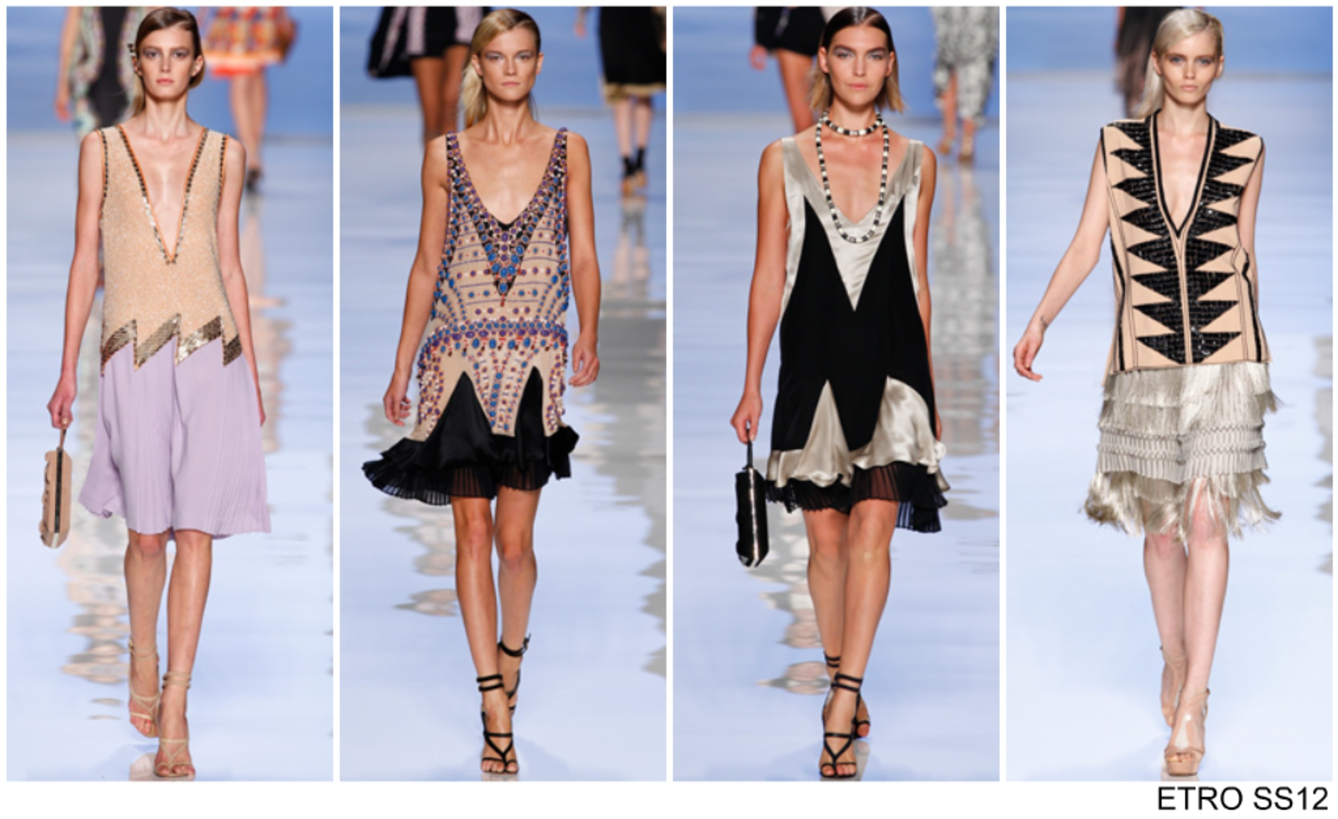 Catwalk From The Spring Summer 2012 Catwalks The Great Gatsby Sugar Spice
