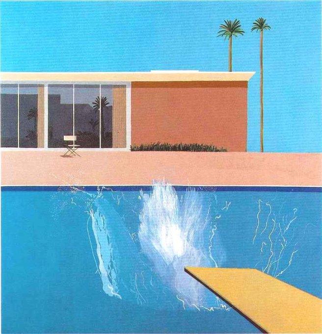 A Bigger Splash by David Hockney