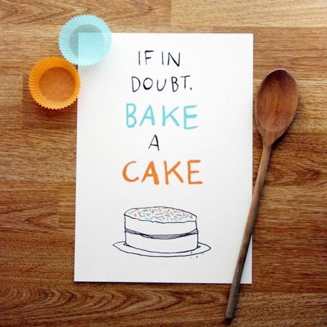 5 things bake a cake
