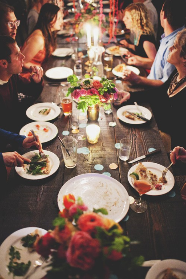 5 things dinner party