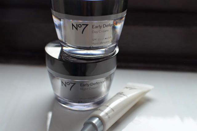 no7 early defence skin care
