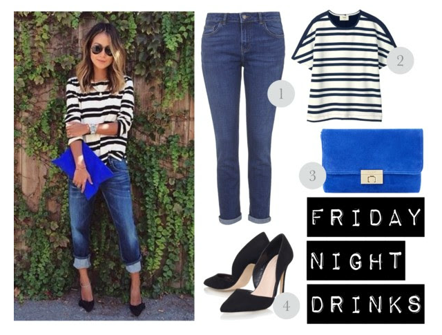 friday night drinks outfit