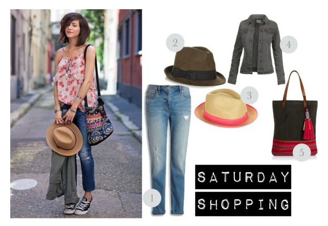 saturday shopping outfit
