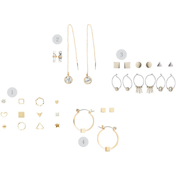 multiple piercings earrings