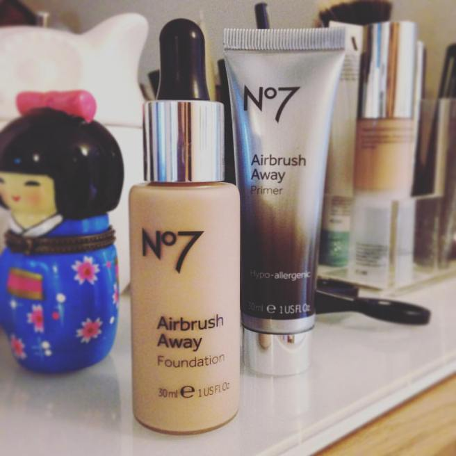 boots no7 match made airbrush away foundation
