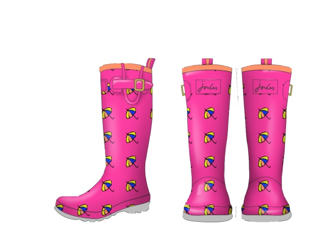 Joules design your own wellies competition