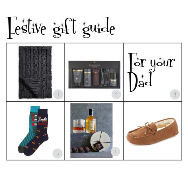 festive gift guide for your dad