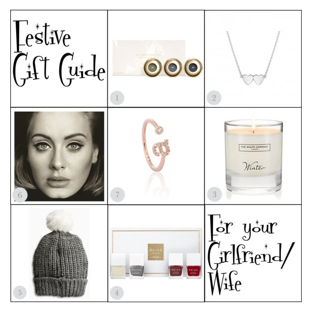 festive gift guide for your girlfriend or wife