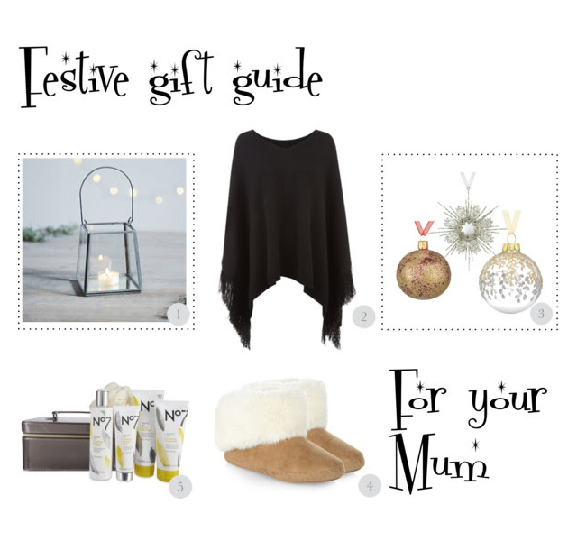 festive gift guide for your mum