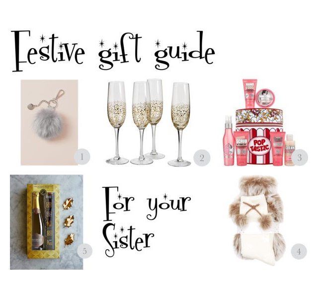 festive gift guide for your sister